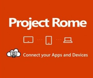 project ROME de Microsoft